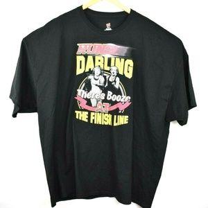 "5XL Absolutely Fabulous ""Run, Darling"" T-Shirt"